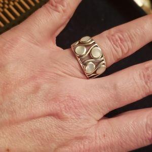 Pearl enhanced ring